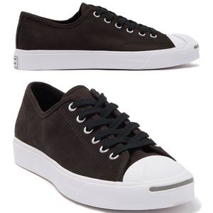 Converse Jack Purcell Classic Shoe Velvet Brown.